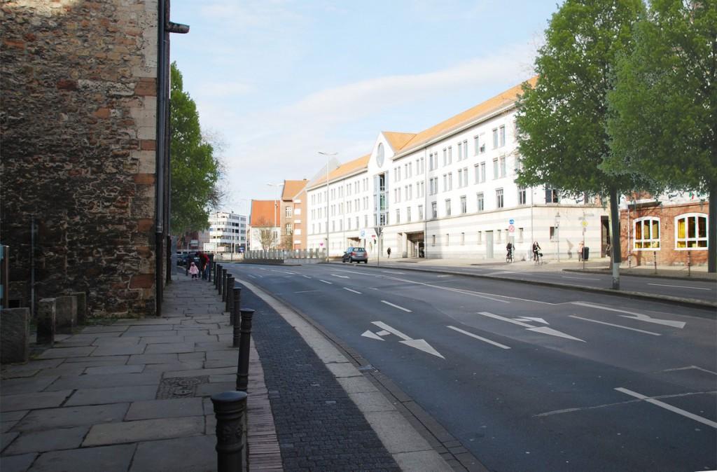 Blick in die Straße heute